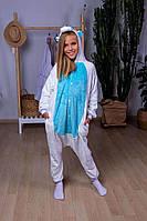 Кигуруми Пегас Голубой пижама женская детская