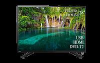 "Современный  Телевизор   Toshiba 28"" FullHD DVB-T2 USB Гарантия 1 ГОД!, фото 1"