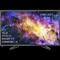 """Сучасний Телевізор Dex 52""""Smart-TV ULTRA HD T2 USB Гарантія 1 РІК, фото 1"""