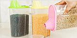 Контейнер для сыпучих продуктов 16*9*15 см, 2 л., фото 4
