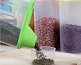 Контейнер для сыпучих продуктов 16*9*15 см, 2 л., фото 7
