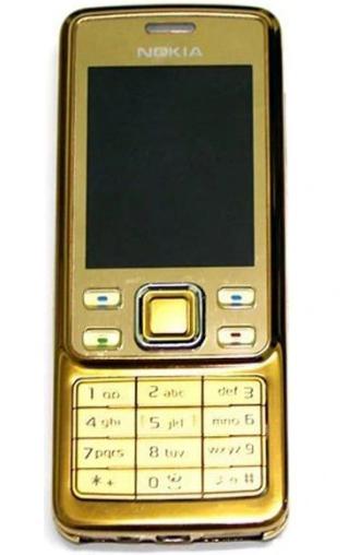 Мобильный телефон Nokia 6300! Золотой
