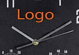 Часы настенные с термометром и гигрометром 45*4,5 см, фото 3