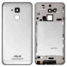 Задняя крышка Asus ZenFone 3 Max ZC520TL X008D серебристая
