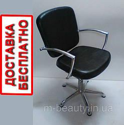 Парикмахерские кресла для салона красоты кресло с хром подлокотниками ANDREA
