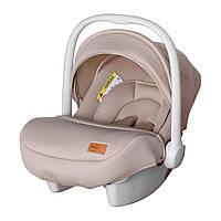 Автокресло детское CARRELLO Mini CRL-11801/1 Melange Beige группа 0+ Гарантия качества Быстрая доставка