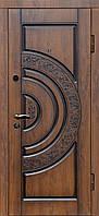 Дверь входная Министерство Дверей ПВ-82 V Дуб темный Vinorit Патина 2050х860мм правая