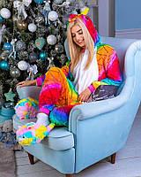 Кигуруми Единорог Чешуйчатый пижама женская детская