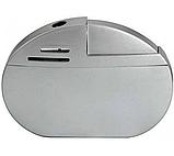 Зажигалка металлическая пьезоэлектрическая 6*4 см, фото 5