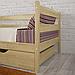 Кровать детская деревянная Марио, фото 6