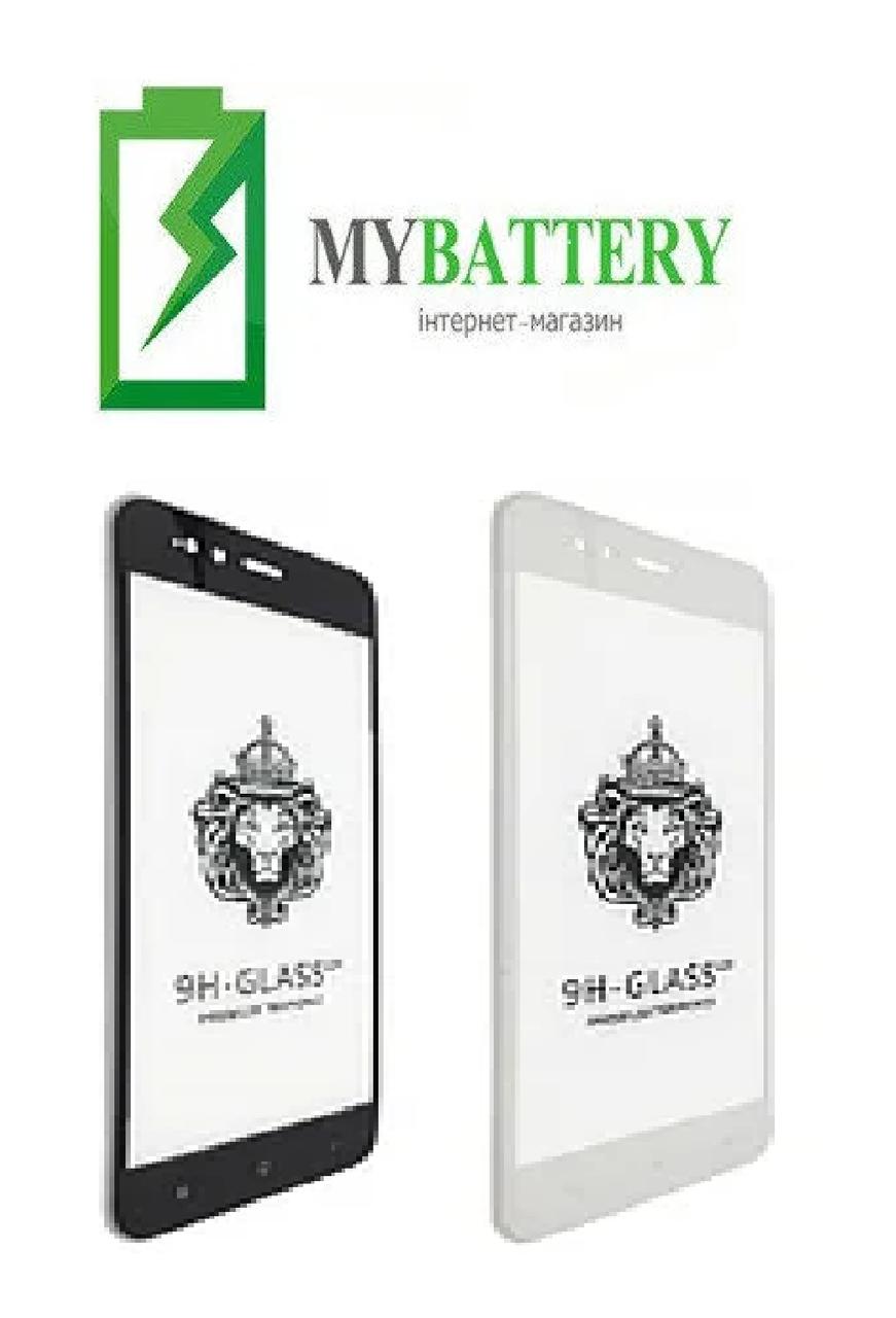 Защитное стекло Samsung A01 A015 Full Glue черное 2,5D 9H Full Glue