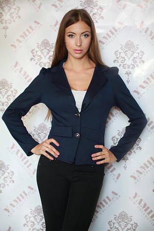Красивый классический женский пиджак на пуговицах, фото 2