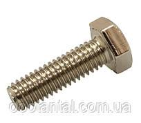 Болт М6х25 латунний ГОСТ 7798-70 (ГОСТ 7805-70, DIN 931) нікельований