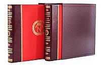 """Книга """"Наполеон"""" 2 тома. Подарочное издание в кожаном переплете"""