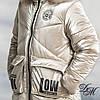 """Зимняя куртка пуховик для девочки """"Фолл"""" на флисовой подкладке, фото 6"""