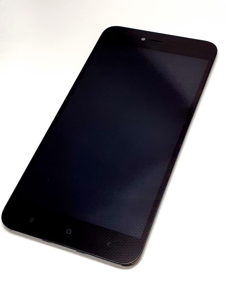 Модуль сенсор + дисплей черный Xiaomi Redmi Note 5A (MDG6) оригинал б.у.