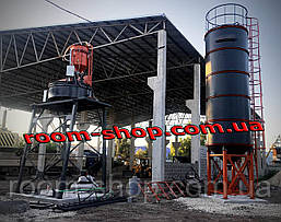 Силос (бункер накопитель) для цемента, зерна, кормов и.т.д. СЦ-22 тонн, фото 2