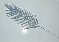 Лист серебро бамбук