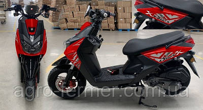 Скутер, мотоцикл Forte BWS-R 150CC червоний