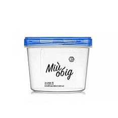 Контейнер пищевой с резьбой 500 мл d11*8 см NP-68с