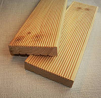 Терассная доска сосна 90/120х28 мм.