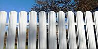 Евроштакетник для секции забора 2000мм шириной 2000мм высотой с односторонней зашивкой, фото 1