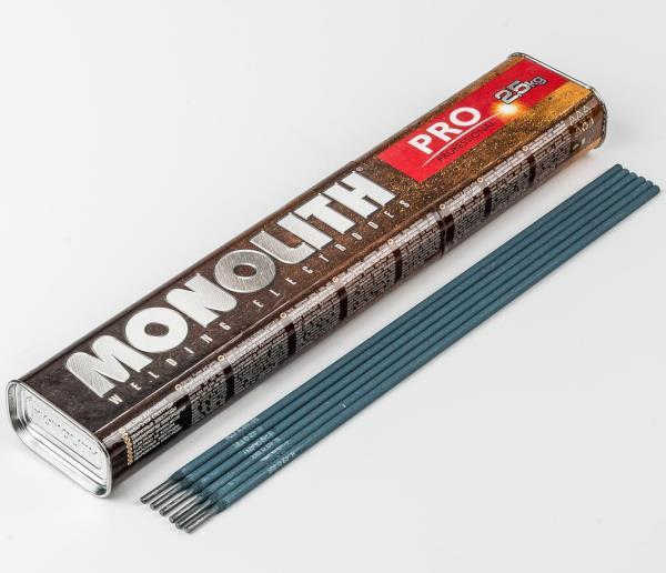 Електроди Моноліт TM Monolith d 3 мм, пачка 2,5 кг (Professional)