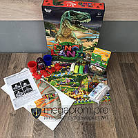 Игровой набор для мальчиков Dino Land 7 в 1 развивающая настольная игра подарочный творчества опытов детский