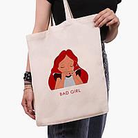 """Эко сумка шоппер Алиса плохая девочка """"Дисней"""" (Alice is a Disney) (9227-1441) экосумка шопер, фото 1"""
