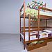 Ліжко двоярусне дерев'яне Амелі, фото 2