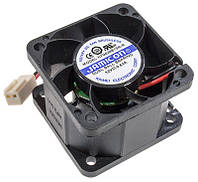Вентилятор чорний пластиковий 40х40 (12V) GAV 380