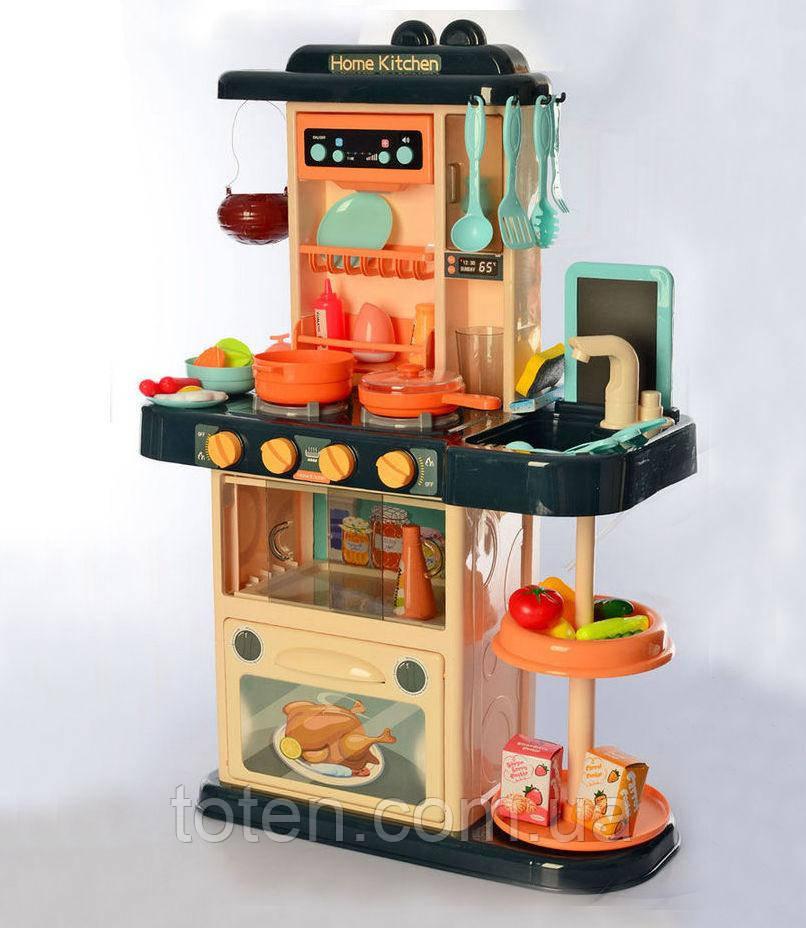 Детская кухня  889-179 Home Kitchen 43 предмета,подсветка, звук, мелодии,из крана течет вода, пар
