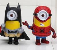Фигурка «Миньон» в образах супергероев - 3 фигурки