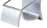 Візитниця настільна металева, підставка для візиток 55х80х65 мм, фото 2