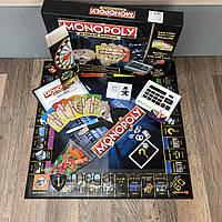 Настольная игра Монополия Ultimate Banking с банковской картой кассовым аппаратом терминалом экономическая анг