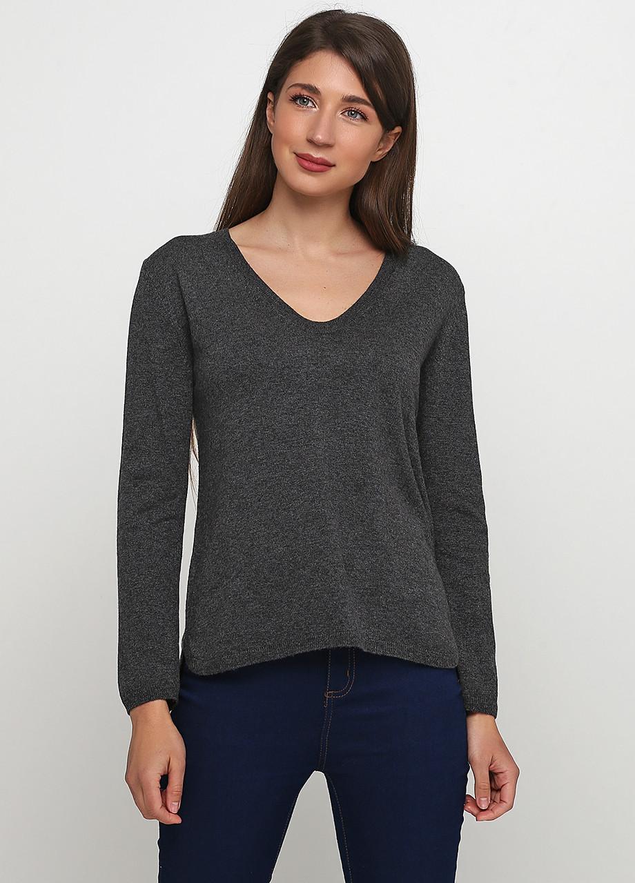 Женский пуловер H&M темно-серый, XS