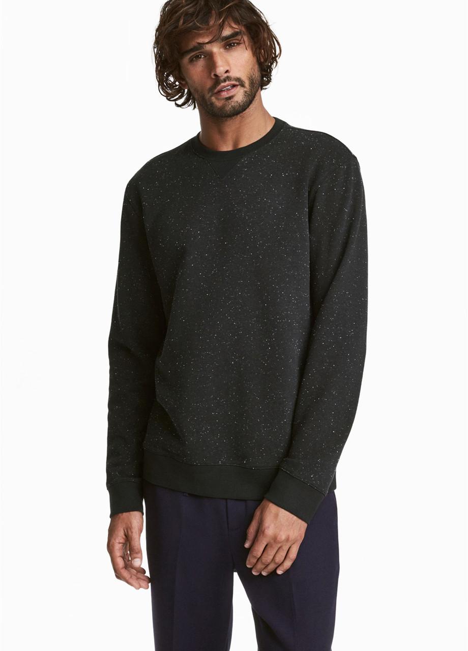 Мужской свитшот H&M черный XS