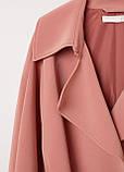 Женский плащ H&M грязно-розовый S, фото 2