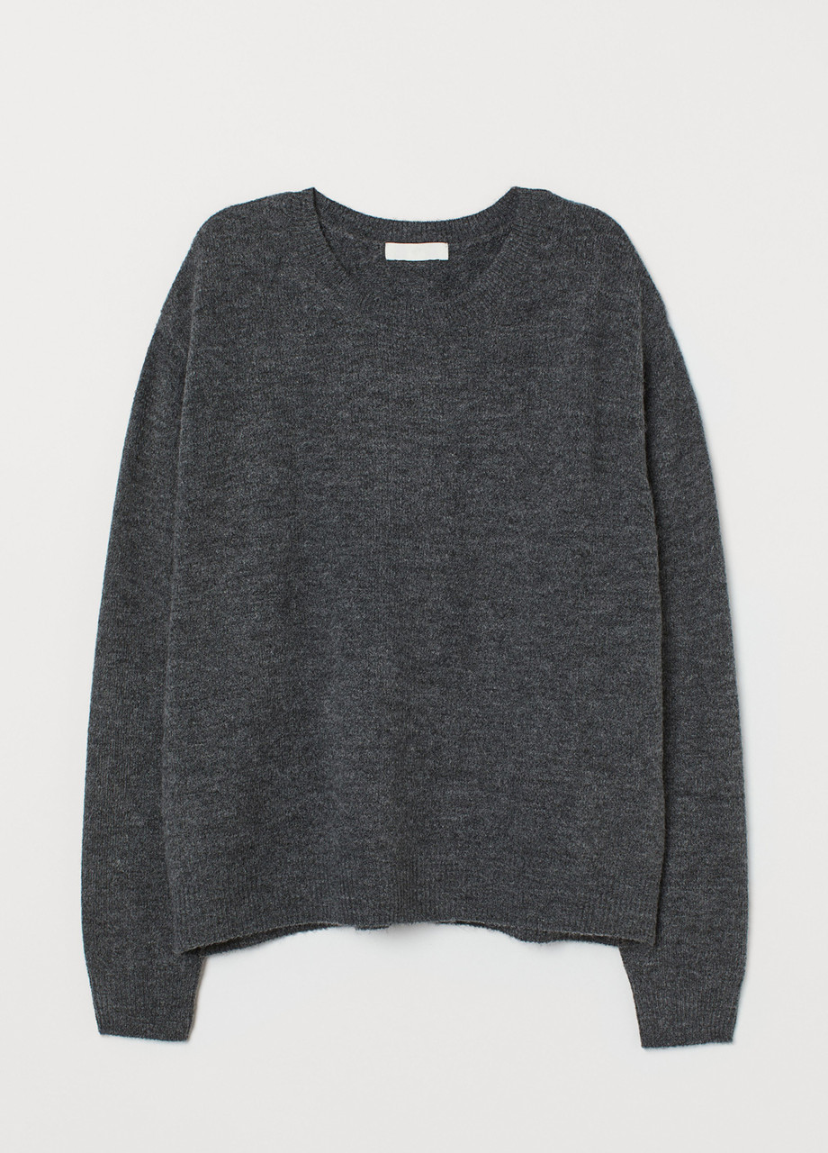 Женский джемпер H&M темно-серый XS