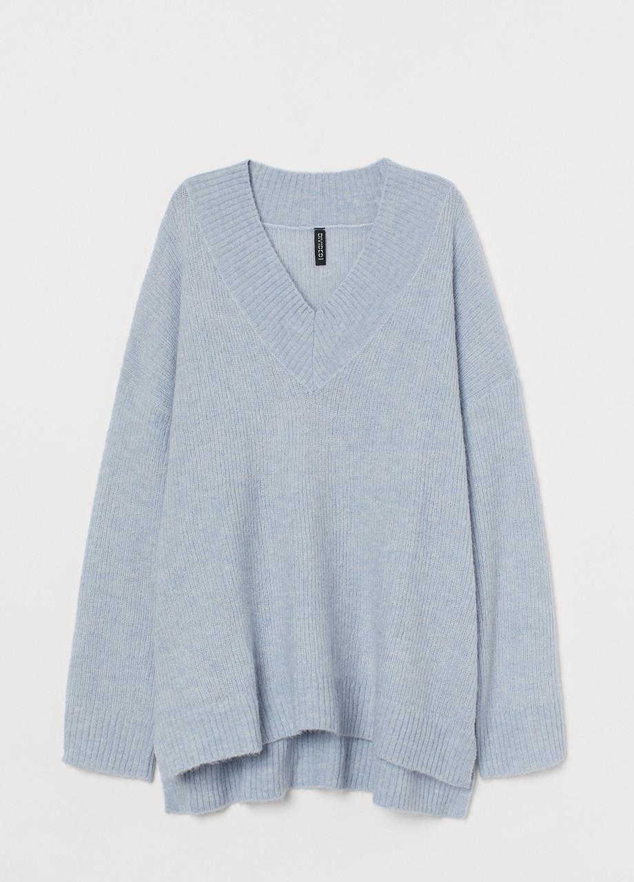 Женскмий пуловер H&M голубой S