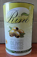 Оливки зеленые без косточки высший сорт! 4,2 кг TM Rino (Египет), фото 1