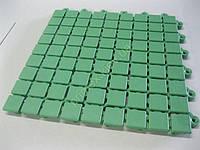 Противоскользящее покрытие «Аква» цвет зеленый для бассейнов и влажных помещений коврик для бани киев купить