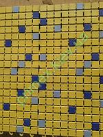 Противоскользящий ковер «Аква» цвет желтый для бассейнов и влажных помещений коврик против скольжения киев
