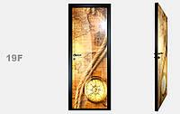 """Зеркальная межкомнатная дверь серии """"Фото"""" фабрики Аксиома модель 19F"""