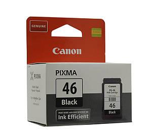 Картридж Canon PG-46 Black Fine Cartridge (оригинальный), струйный, чёрный, 9059B001