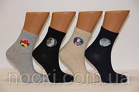 Жіночі шкарпетки середні комп'ютерні MONTEBELLO попугаі