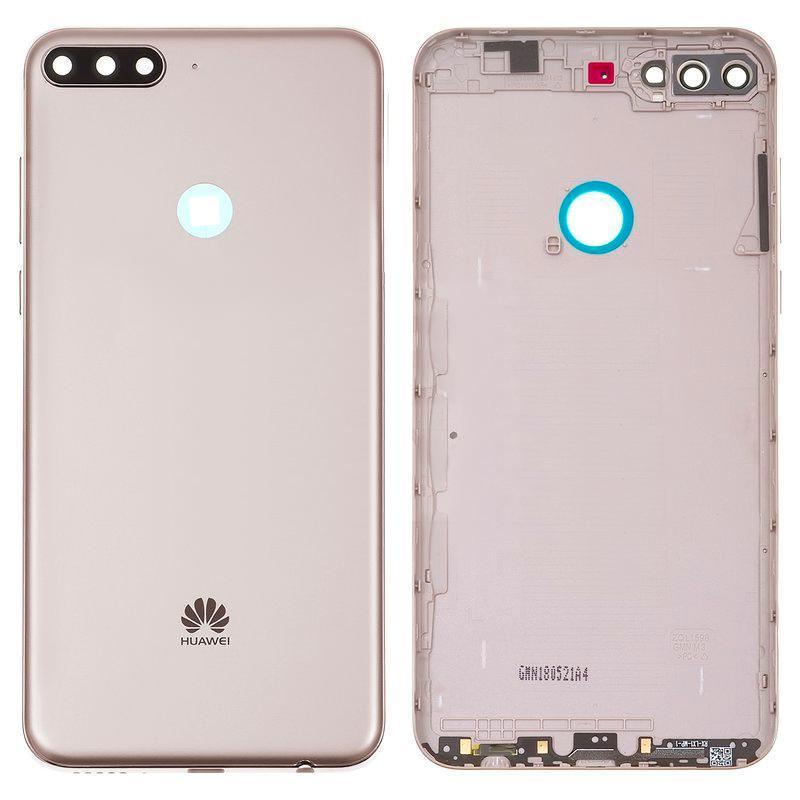 Задняя крышка оригинал для Huawei Y7 Prime 2018 Gold