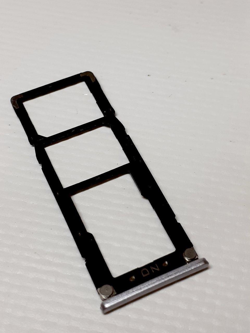 Лоток сим и карты памяти  Xiaomi Redmi 5A оригинал б.у.