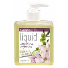Органическое жидкое детоксицирующие мыло Магнолия – Олива, 300мл