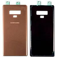 Задняя крышка оригинал для Samsung Galaxy Note 9 N960 Brown